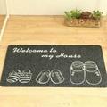 地毯生产厂家优惠促销出口地毯门垫PVC门垫 2