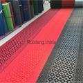 山东地毯厂家批发各色化纤拉绒地毯出口大红地毯 2