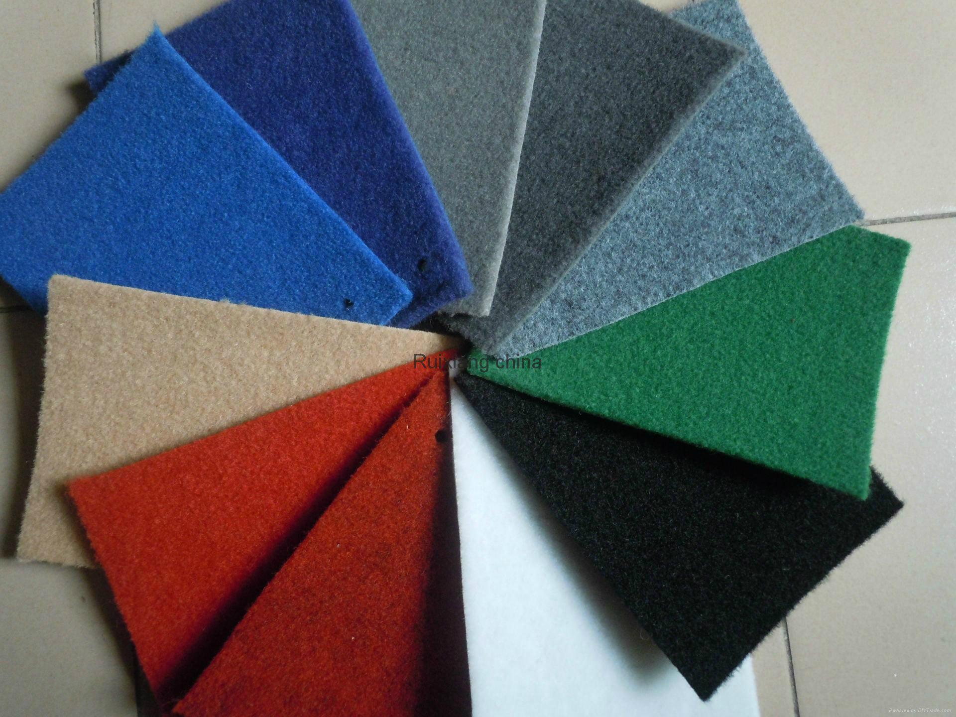 山东地毯厂家批发各色化纤拉绒地毯出口大红地毯 4