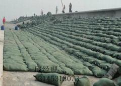 綠色針刺無紡布生態袋土工布生態袋抗老化生態袋