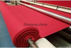 地毯厂定制超厚阻燃地毯大红婚庆开业典礼地毯