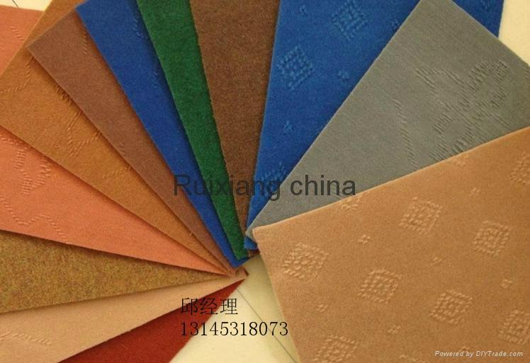 地毯厂定制超厚阻燃地毯大红婚庆开业典礼地毯 2