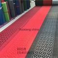 地毯厂定制超厚阻燃地毯大红婚庆开业典礼地毯 3