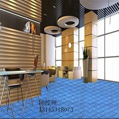 大型展会展览地毯大红化纤地毯婚庆地毯