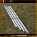 Silver aluminum outdoor sky awning poles