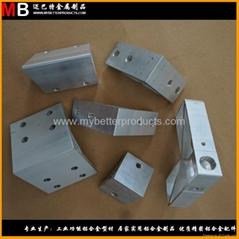 定製各種材質規格鋁合金角碼 精鋸 精鑽 精銑