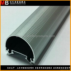 Customized 6063 T5 aluminum profiles produced for avaious specification LED lamp (Hot Product - 1*)
