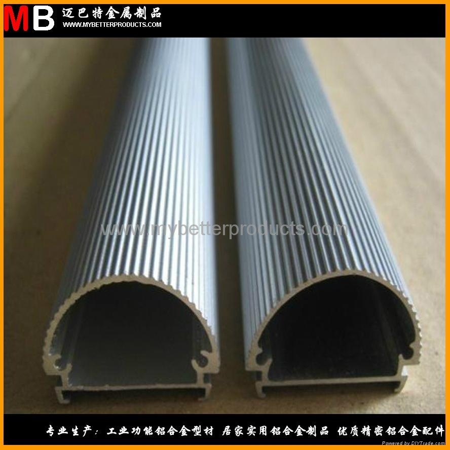 6063 T5 鋁合金型材定製加工生產各種規格 LED燈管 T8  2