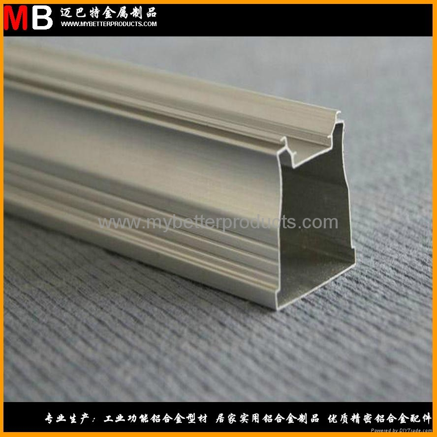 Customized 6063 T5 aluminum profiles produced for avaious specification LED lamp 3