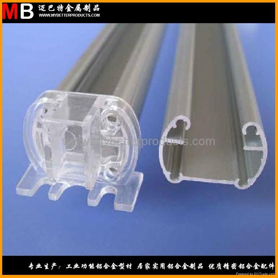 6063 T5 铝合金型材定制加工生产各种规格 LED灯管 T8  4