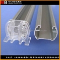 Customized 6063 T5 aluminum profiles produced for avaious specification LED lamp 4