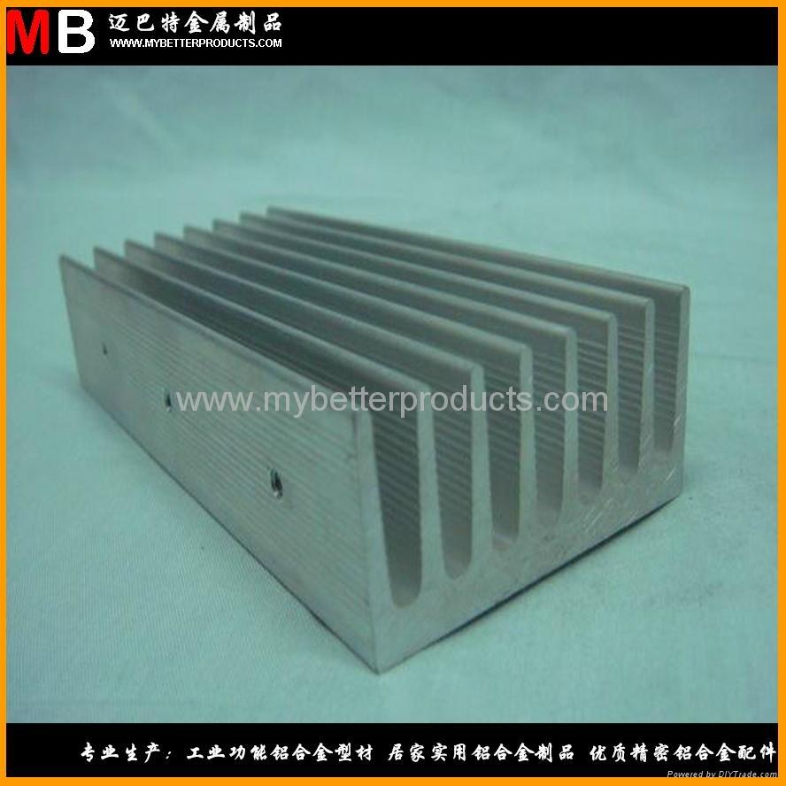 Extrusion industrial heat sink aluminum ally profiles  1