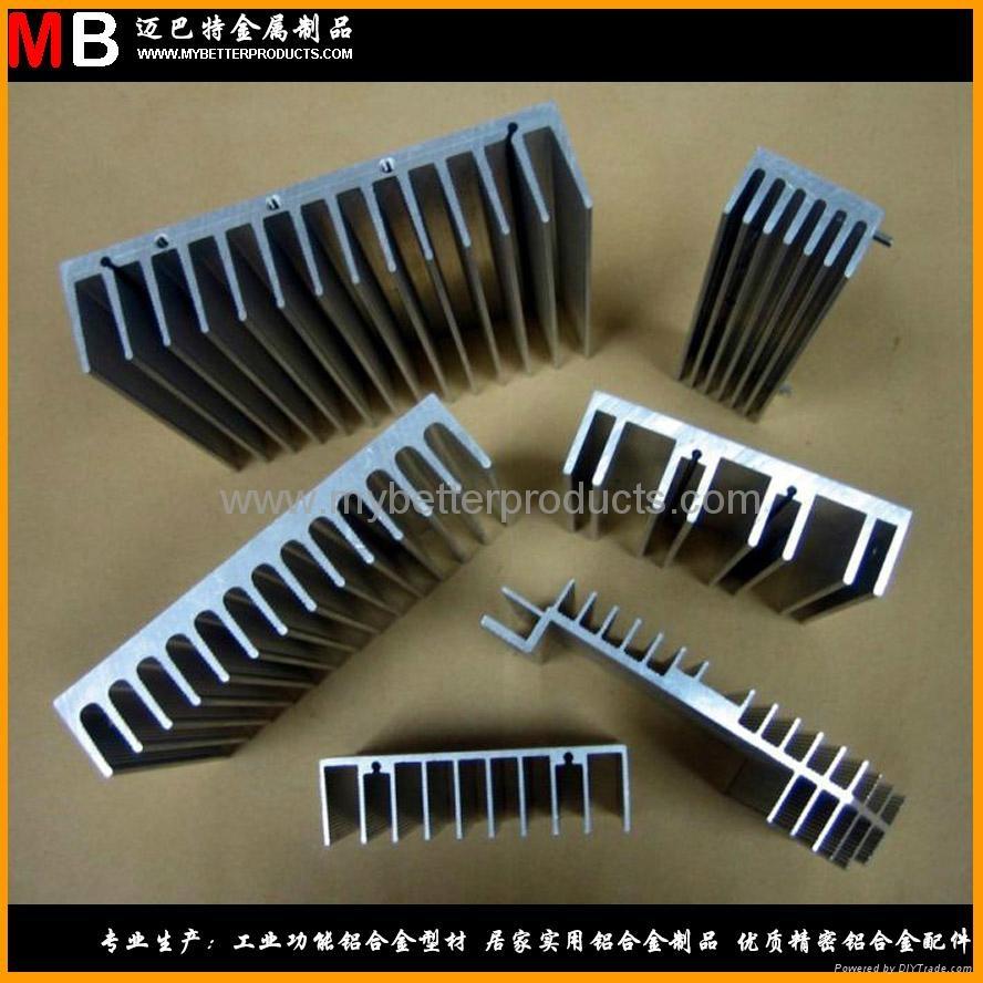专业生产铝合金散热器广泛应用于各行各业 1