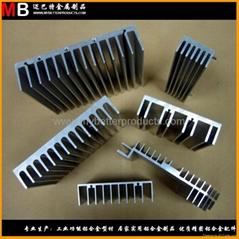 專業生產鋁合金散熱器廣氾應用於各行各業