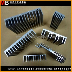 Specialized in aluminum alloy heat sink greatly used in industrials