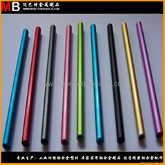 擠壓鋁合金管件可做多色陽極氧化表面處理
