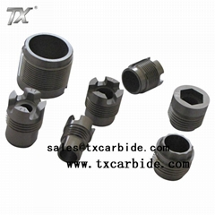 Carbide Nozzles with Polished Surface