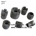 Carbide threading nozzle
