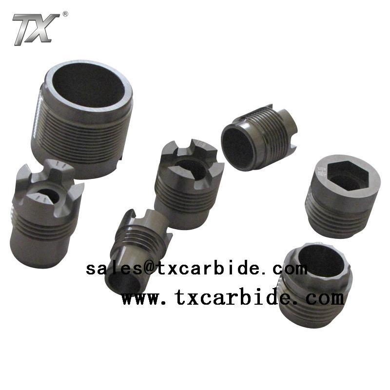 Carbide threading nozzle 2