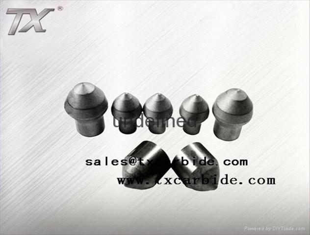 Tungsten Carbide Mining Bits for Mining Machine 1