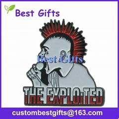 Factrory direct custom soft enamel lapel pin