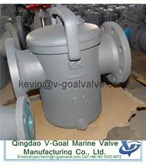 Cast iron marine filter marine strainer JIS standard F7121