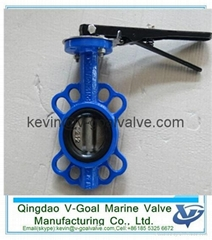 Lever Operated Lug Type Butterfly Valve