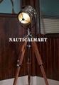 Classic Designer chrome Finish Spotlight Searchlight With Tripod Floor Stand 2