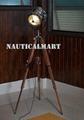 Classic Designer chrome Finish Spotlight Searchlight With Tripod Floor Stand 3