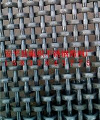 黑鋼絲軋花編織篩網