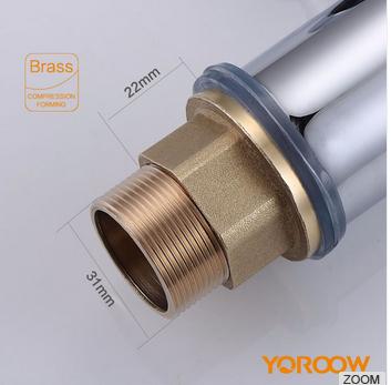 Popular Style brass waterfall single handle basin mixer tap 3