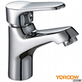Popular Style brass waterfall single handle basin mixer tap 4