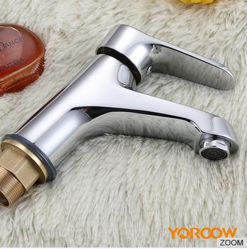 Popular Style brass waterfall single handle basin mixer tap 5