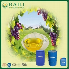 High Nutritional Oil Bulk Cold Pressed Virgin Grape Seed Oil