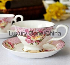 Fine Bone China Cup and Saucer Set Coffee Set Tea Set Wholesale