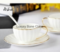 White Fine Bone China Cup and Saucer Set Coffee Set Tea Set Wholesale 5