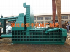 大型廢鋼壓塊機
