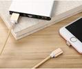 苹果7安卓磁吸数据线 三星小米华为通用2A编织盲插磁性磁力充电线 1