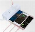 一拖三多功能数据线iPhone5s 6多头安卓乐视type-c充电线器 9