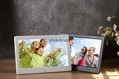 "Customize""10"" 12"" 15"" inch digital photo frame 10""Inch AD. promotion Gift frame"