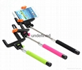 2017 Hot Sell Z07-5 extendable wireless monopod handheld bluetooth selfie stick