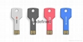 Mini USB Memory Promotional Creative Metal Key USB Flash Drive