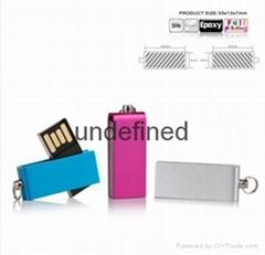 Colorful metal USB flash
