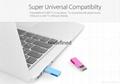 Colorful metal USB flash Mini USB Flash Drive Memory