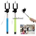 2017 New Mini Stick Phone Extendable Portable wired Selfie Stick Monopod