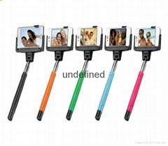 Hot Selling Wireless monopod D09 selfie stick with mirror
