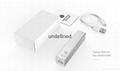 Hot Selling 2000/2200/2600/3000mAh Metal USB power bank