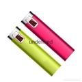 Portable mobile phone power bank 2600mAh mini travel charger