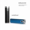 Portable mobile phone power bank 2600mAh