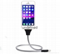 New style 2017 Flexiblestand holder metal cable standfor mobile phone holder